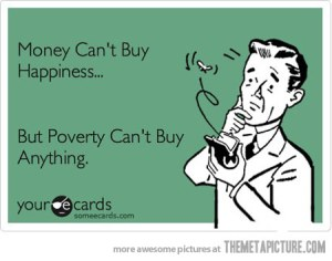 funny-money-cant-buy-happiness-quote